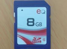 بطاقة الذاكرة 8 جيجا HC