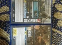 ألعاب pls4 بحاله ممتازه للبيع أو للبدل.