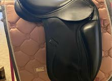 PDS Carl Hester Integro monoflap Dressage Saddle 17.5 inch and adjustable gullet