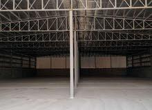 لايجار مخزن 1500 متر مرخص مطافي يصلح جميع الأنشطة التخزينية