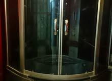 حمام كامل المواصفات دوش مضخات بخار بانيو