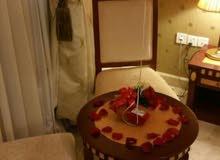 تنسيق الحفلات الرومنسيه داخل غرف الفنادق