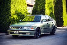 Saab 93 2002 For sale - Green color