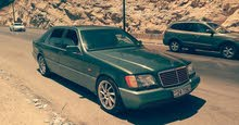 Mercedes Benz S 500 car for sale 1992 in Amman city