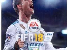 Fifa 18 for sale.   فيفا 18 للبيع  ps4