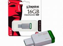 فلاش KINGSTON 16 GB بسعر الجملة للكميات فقط