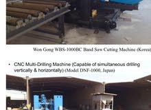 Steel Fabrication Equipment       معدات تصنيع الصلب