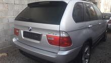 BMW X5 محرك الأبيض 4.4 رسالة مفتوحة إستيراد دبي  نظيفة جدا سيارة دفع فل