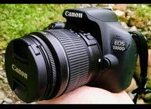 كاميرا احترافيه D 1300 غير مستعملة