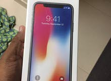 Iphone X 256GB Space Grey Sealed pack