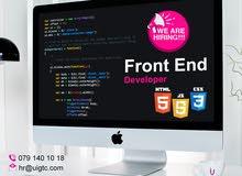 مطلوب  front end Developer