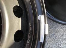 رنجات حديد وطاسات اصلية وكالة لسيارة هوندا سيفيك مقاس 16 لم تستخدم بعد