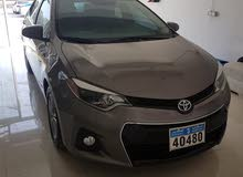 Toyota Corolla car for sale 2015 in Al Khaboura city