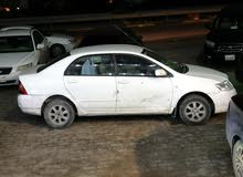 Manual White Toyota 2005 for sale