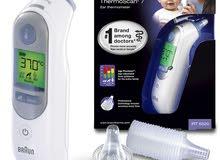 جهاز براونIRT7520 لقياس درجة حرارة الجسم عن طريق الاذن
