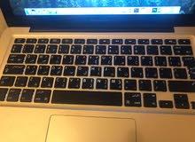 للبيع لابتوب MacBook Pro موديل 2011 شاشة 13 انش