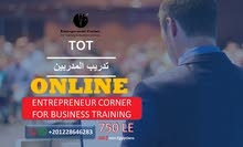 TOT - online ( برنامج اعداد المدرب المحترف  - الحضور اونلاين)