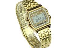 ساعة رجالية ذهبية راقية للبيع