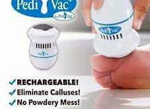 جهاز pedi vac لازالة الجلد الميت