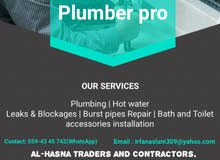 Plumber Services in Riyadh City