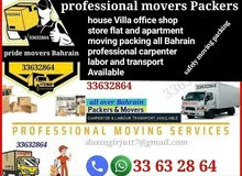 All over Bahrain moving packing professional services