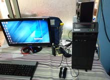 كمبيوتر لينوفو امريكي كامل للبيع