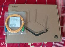 bnet optic fiber router with cable