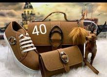 حذاء مع صاك او بوشات