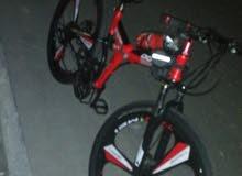 دراجة هوائية حجم 26 انش  قابلة للطي داخل السيارة توضع