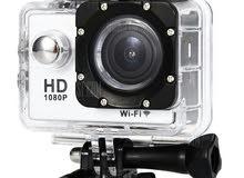 Sport cam 1080p كاميرا لتصوير اهم اللحظات في حياتك  كاميرا رياضيه لالتقاط كل الل