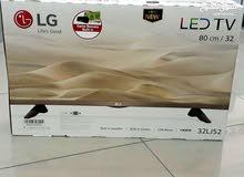 شاشة LG  الأصلية جديدة 32 بوصة يوجد بها رسيفر داخلي وأيد للألعاب المحزنة في الشاشة