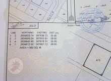 للبيع ارض صناعية في بركاء السقسوق قريبة من الشارع العام بـ(95000)رع
