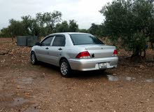 ميتشوبيشي لانسر 2002 بحاله جيده للبيع ماتور 15 فحص 2 جيد خلفي وامامي مضروب ومصلح
