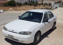 Hyundai Accent 1996 For sale - White color