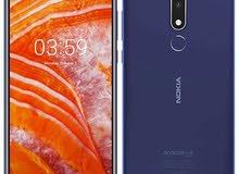 Nokia 3.1 plus  3RAM 32 GB