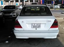 Mercedes Benz C 200 1998 For sale - White color