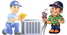 تنظيف وصيانة وتركيب المكيفات