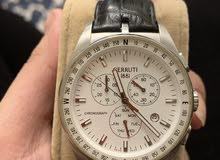 Pure leather Cerruti men's watch