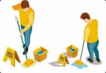 مطلوب مشرف عمال لشركة تنظيف لديه خبرة