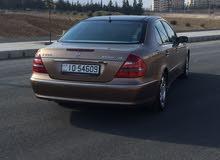 مرسيدس E200 موديل 2005