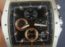 ساعة كاسيو اديفيس كوارتز اصلية مستعملة مغيرة اوستيك وفي بعض التجاريح في الزجاجه