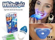 جهاز لتبييض اسنان منزلي teeth whitening