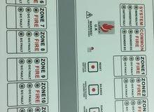جهاز التحكم في إنذار الحريق 12 منطقة
