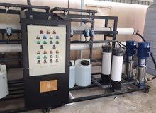 محطات تحليه مياه ( اجهزه تعمل على معالجه المياه وتحليتها لتصبح صالحه للشرب )