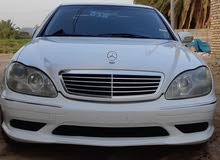 km Mercedes Benz S 500 2001 for sale
