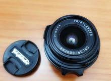 voigtlander used lens 21mm f4 color skopar