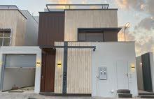 للبيع  فيلا درج داخلي + شقة المساحة 360 في حي العارض