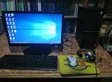 جهاز كمبيوتر مكتبي لينوفو مستعمل 6 شهور