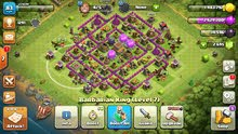 قرية كلاش اوف كلانس clash of clans لفل 83 تاون هال8