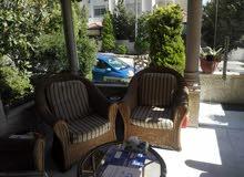 شقة دوبلكس في منطقة دير غبار للبيع طابق أرضي مع حديقة و ترسات